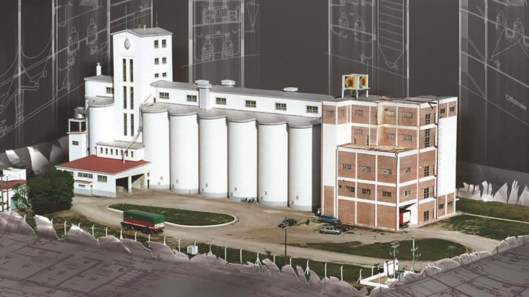 Flour mill for wheat milling
